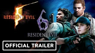 Resident Evil 5 and 6 Switch Official Announcement Trailer - E3 2019