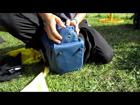 Discsport Tv Crunch Box Disc Golf Bag Från Fade Gear Youtube