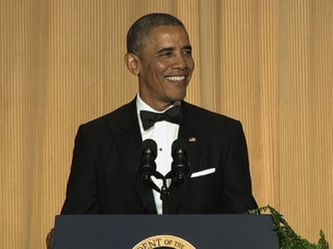 President Obama skewers the press, pols, and Obamacare at correspondents dinner