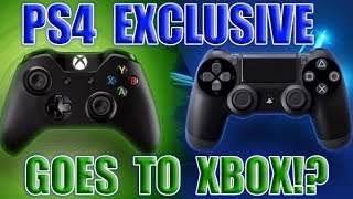 MASSIVE PS4 Exclusive Going To Xbox For The First Time! Sony Fanboys Said It