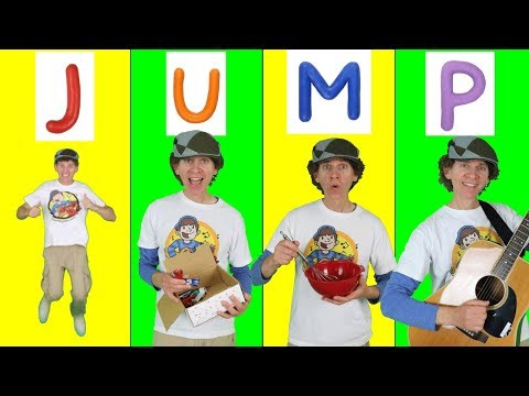 Alphabet Action Phonics Song  A to Z Exercise for Children  Learn English Kids