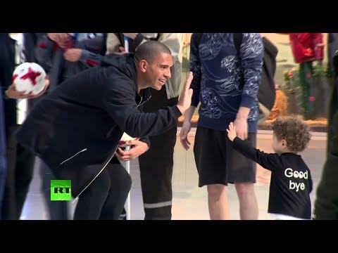 Флешмоб с мячом проект RT «В игре» проверил футбольные навыки москвичей