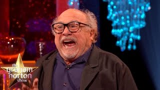 Danny DeVito Got Bitten in the Balls by a Monkey - The Graham Norton Show