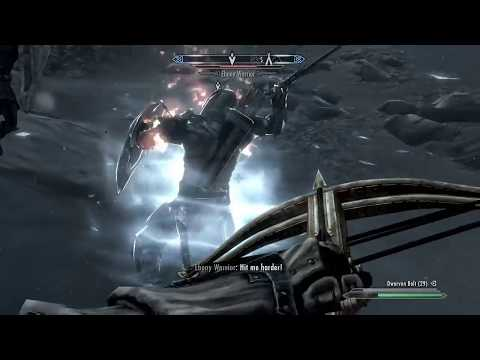 Dark Soul Plays: Skyrim, Fighting (And  Eventually Killing) The Ebony Warrior