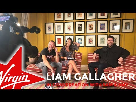 Liam Gallagher chats to Sam and Amy on Virgin Radio