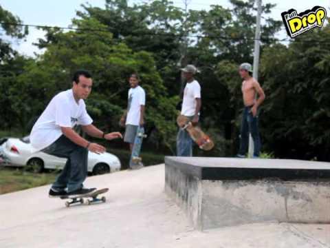 Irving Guerrero desde El Aeropuerto y Los Algarrobos Full Skateboarding Chiriquí