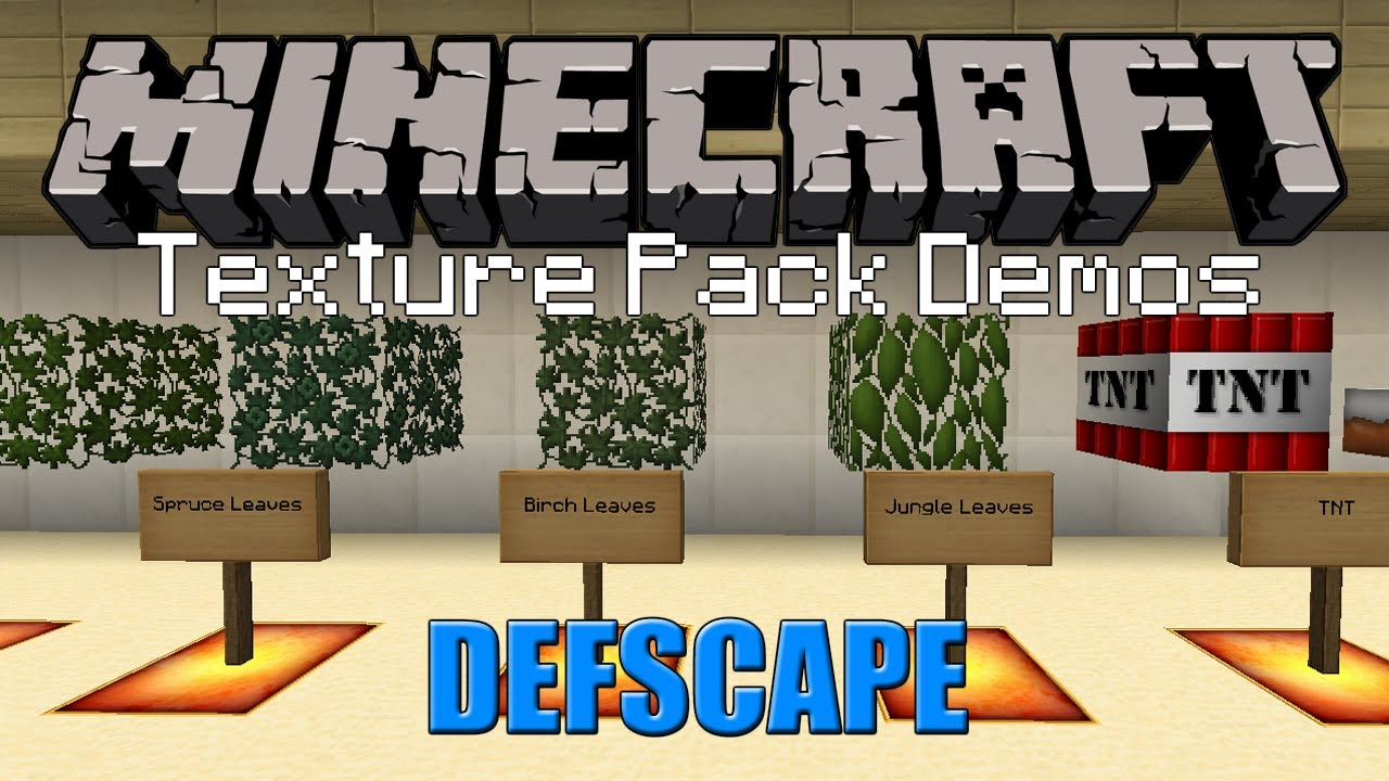 DEFSCAPE | Minecraft Texture Pack (1.5.1) - YouTube