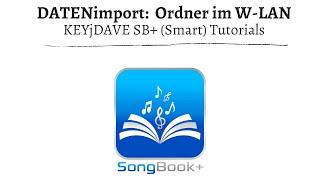 (ST) SongBook+ Datenimport - Ordner im W-Lan freigeben (MAC)