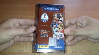 MEGAA BLASTER BOX PANINI FIFA WORLD CUP RUSSIA 2018