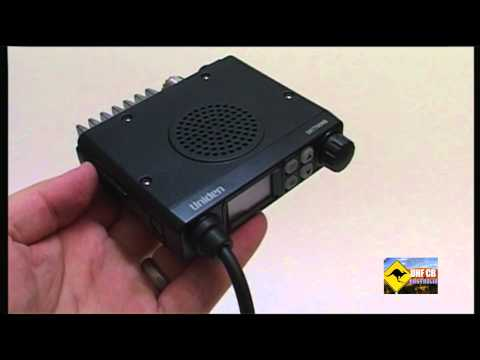 UHF CB Australia: Tutorial - Unlocking the Uniden UH7700NB UHF CB Radio