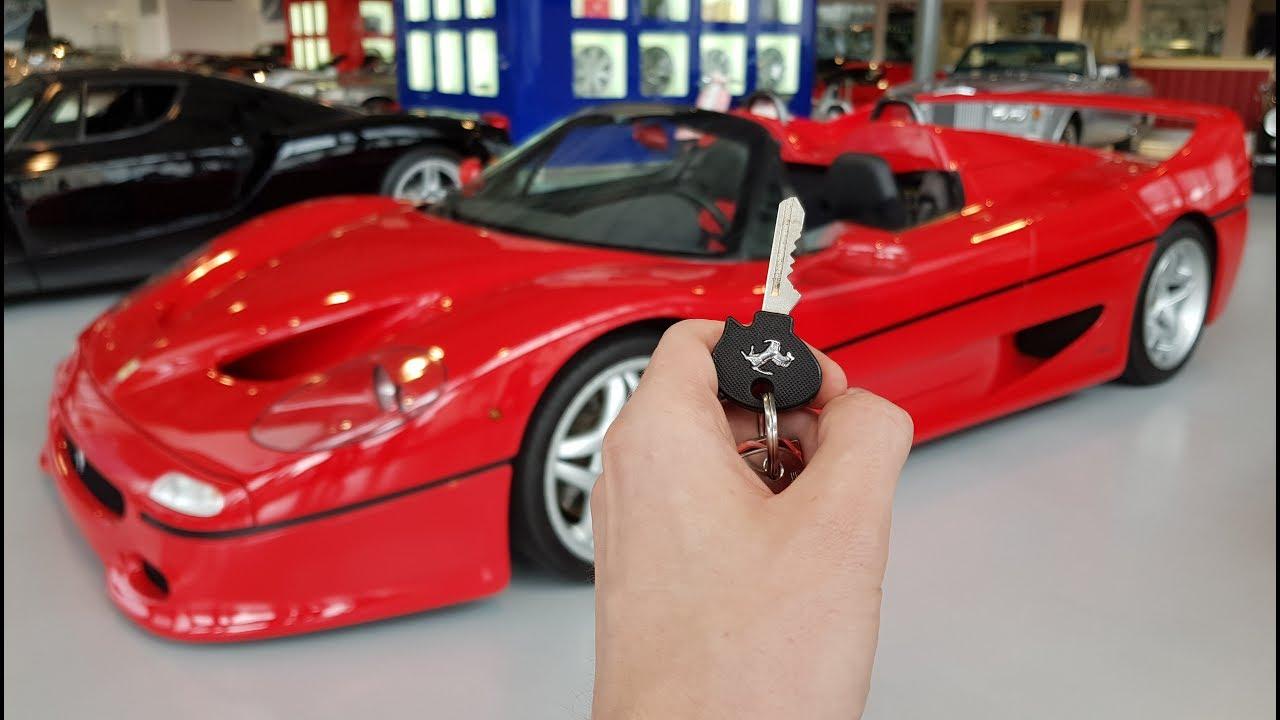 Ferrari F50: In-Depth Exterior and Interior Tour! - YouTube