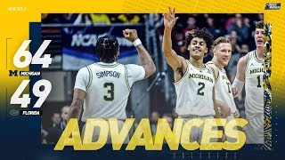 Michigan vs. Florida: Second round NCAA tournament extended highlights