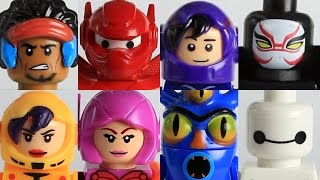 Custom Lego Big Hero 6 Ultimate Moc collection