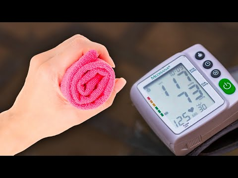 How to Lower Blood Pressure Naturally Using a Towel
