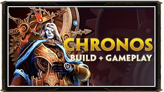 SMITE BRASIL - CHRONOS BUILD + GAMEPLAY!