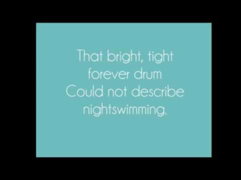 REM Nightswimming RPO karaoke