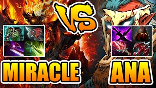 Miracle- [Shadow Fiend] vs OG.Ana & OG.7mad - Who Is Better Dota 2 7.01