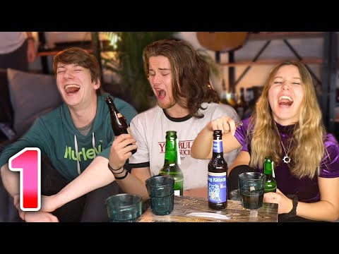 Wir BESAUFEN Uns Komplett! - [1] Der Bier-Adventskalender Mit Jeany Und Dan