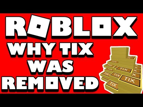 Why Roblox Removed Tix The Real Reason And Why Tickets Won T