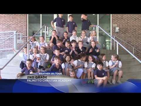 Palmetto Christian Academy 2nd graders visit Rob Fowler at News2