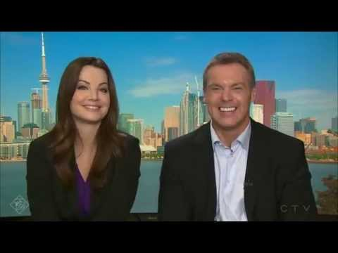 CTV Morning Live  - Erica Durance and Michael Shanks Interview