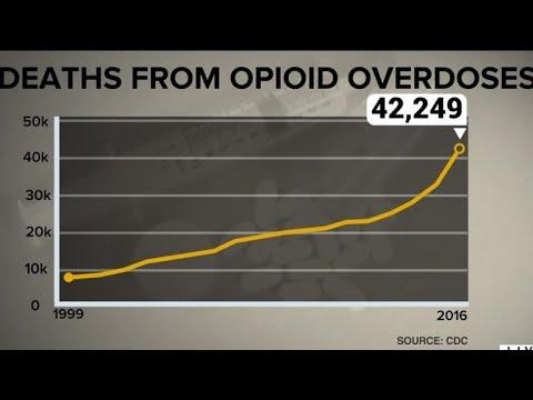Average U.S. life expectancy drops as opioid deaths climb