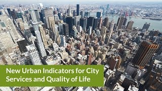 New Urban Indicators for City Services and Quality of Life