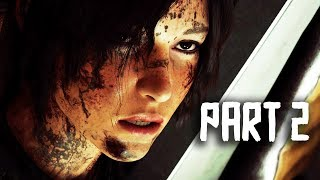 Shadow of the Tomb Raider Gameplay Walkthrough Part 2 - Jaguar Battle - FULL GAME (NEW Gameplay)