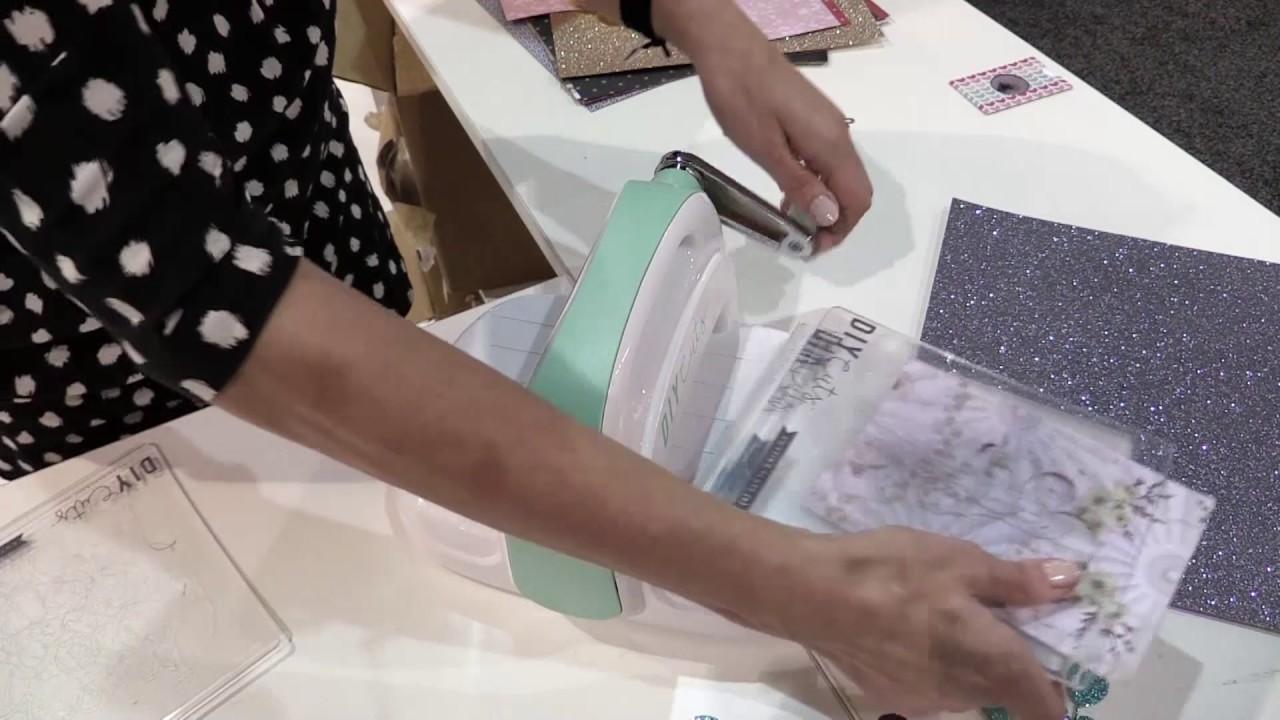 DIY Cuts - Die Cut Machine - Kaisercraft - YouTube