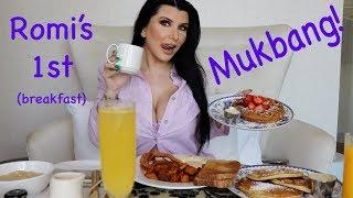 Romi's 1ST MUKBANG! Breakfast Eating show!