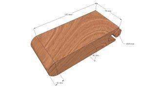 Держатель для наждачной бумаги/Sandpaper holder