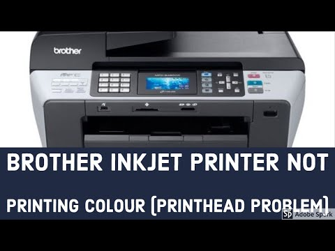 Brother DCP T300 Tank Printer Ink Problem Fixed Head Cleaning