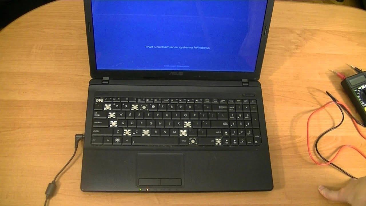 Laptop nie włącza sie, Diagnostyka usterki - YouTube
