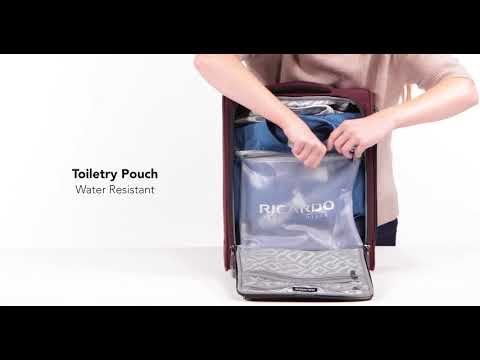 Malibu Bay Underseat Rolling Bag Features