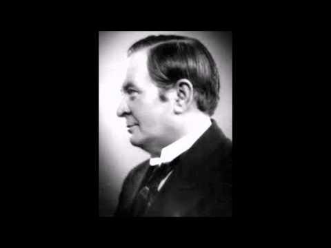 """""""Flyv min Fugl i Verden ud""""  Skuespiller Axel Boesen med orkester 1922"""
