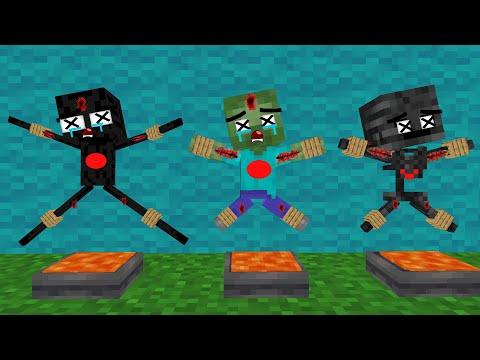 Monster School: Poor Baby Zombie Life Sad story but happy ending - minecraft animation |