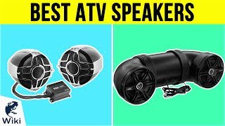 10 Best ATV Speakers 2019