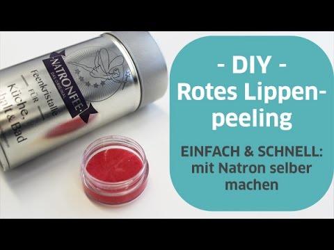 Lippen Peeling Selber Machen