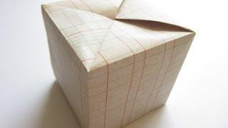 Origami Fujimoto Cube