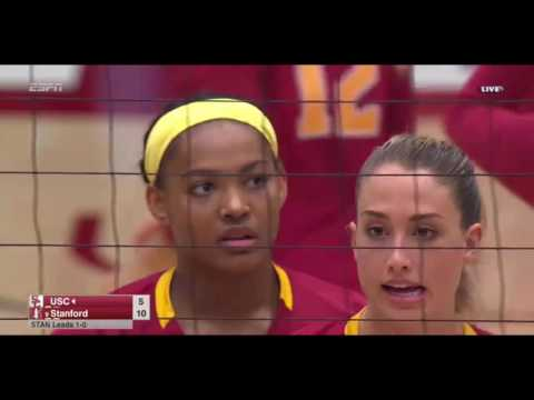 Stanford Vs USC Set 2 on Nov 10, 2016