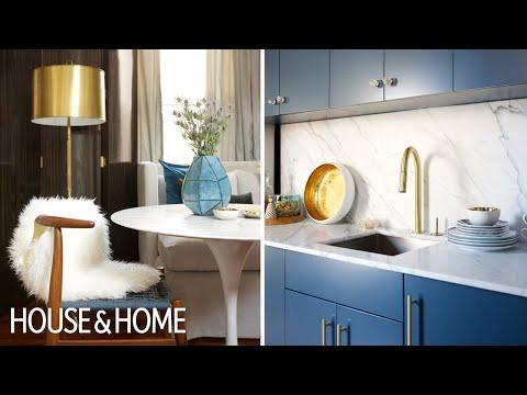 Interior Design — Small Multifunctional Chic Designer Apartment