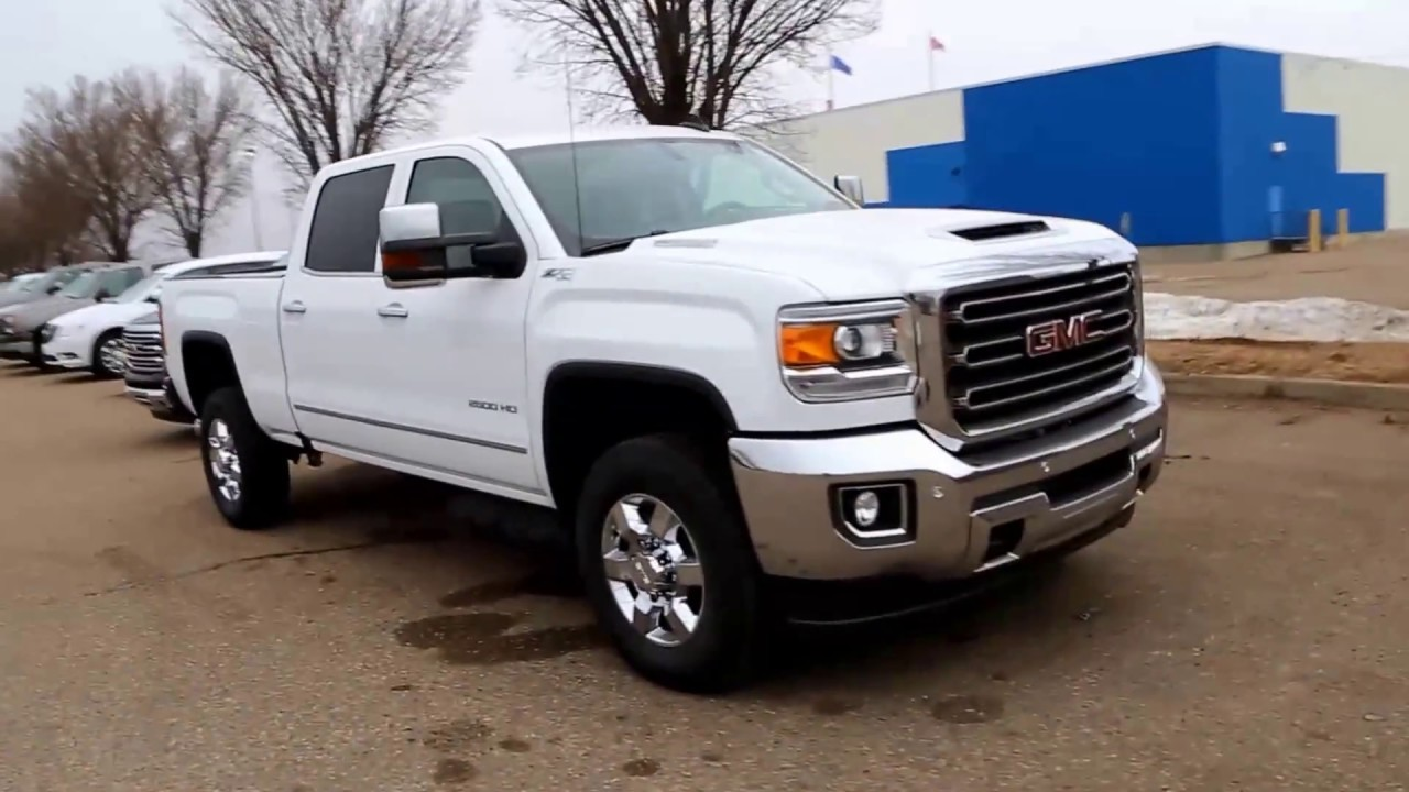 Summit White 2017 Gmc Sierra 2500hd Sle For In Medicine Hat Ab