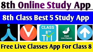 8th Online Classes App | 8th Online Class 2020 | Best online Study App | How to join Online study | screenshot 2