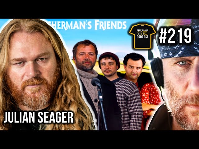 Fisherman's Friends | Poldark | Doc Martin | Julian Seager | Bought The T-Shirt Podcast