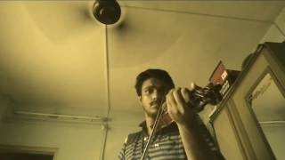 ae ajnabi violin cover