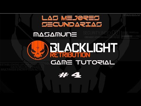 Guía Como MONTAR la MEJOR ARMA SECUNDARIA para BlackLight Retribution