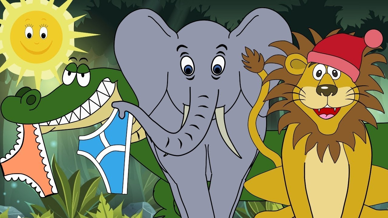 Down in the Jungle! Nursery Rhyme for babies and toddlers from Sing and  Learn! - YouTube