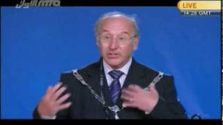 John Ward Mayor Farnham Town Council at Jalsa Salana UK-2010.