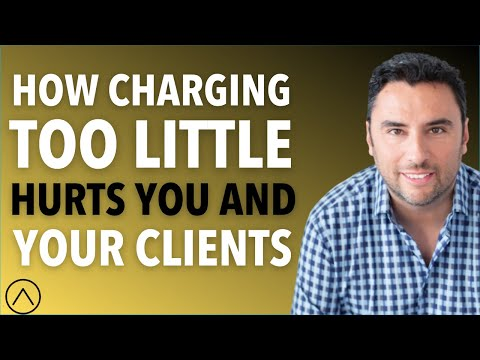 How Charging Too Little Hurts You and Your Clients - Joe Soto Explains