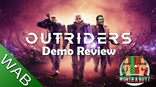 Outriders Demo Review - I won't need to review the game now (Video Game Video Review)